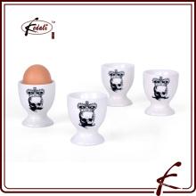 Alta calidad personalizada de porcelana duradera Copa de huevo