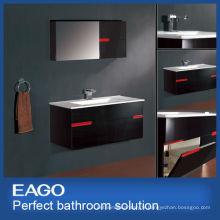 Cabinet de salle de bains de bassin de céramique de 800mm (PC128-1FB-4)