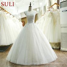 Vestido de boda 2017 del vestido de bola de la llegada de SL-218 Vestido de festa