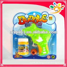 Karikatur-Entwurfs-Luftblasen-Gewehr, lustiges Reibungs-Luftblasen-Gewehr-Spielzeug, blinkendes Luftblasen-Gewehr für Kinder mit Blasen-Wasser