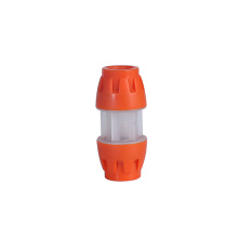 Same diameter two microduct straight coupling multi size push-fit design hdpe duct fittings