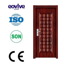 Dessins de mélamine placage porte en bois moderne