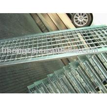 Couverture de tranchée en acier, couvercle de drainage en acier, grille de tranchée en acier, grille de vidange d'acier