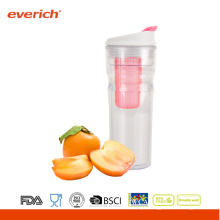 New Arrival Plastic Sports Bottles Fruit Infuser
