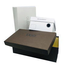 Custom Recycled Kraft Coated Paper Recyclable Cardboard Shoe Box For Sale Offest Printing