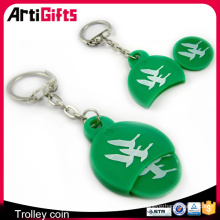 badge avec vis retour personnalisé doux en caoutchouc pvc marteau porte-clés