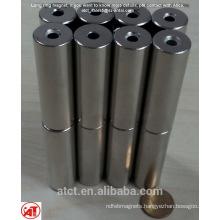 Long neodymium magnet ring for loudspeaker