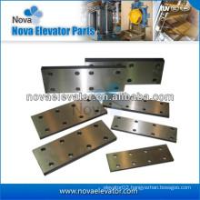 Elevator Components, Elevator Fishplate for Elevator Guide Rails