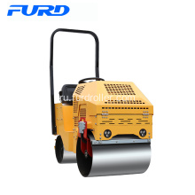 FYL-860+Ride-on+Double+Drum+Mini+Vibratory+Roller