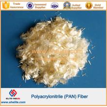 Fibra de fibra de pan de poliacrilonitrilo
