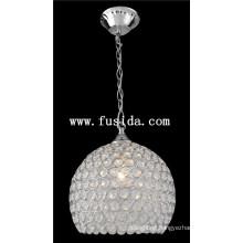 Round Crystal Ball Pendant Lighting /Crystal Pendant Lamp