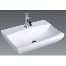 China Lavabo rectangular de la encimera del cuarto de baño (7095)
