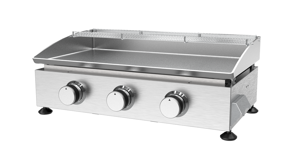 Stainless Steel Gas Plancha BBQ