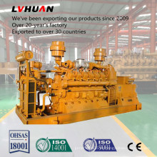 Generador de gas natural Lvhuan 50Hz / 60Hz 600kw