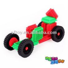 Bloques coloridos de la rueda de coche