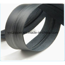 5# Waterproof Nylon Long Chain Zipper with PVC