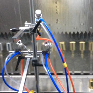 plastic parts  automatic spray painting line machine