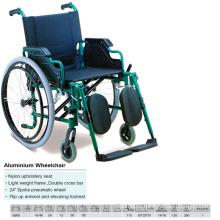 Double Cross Bar Aluminum Wheelchair