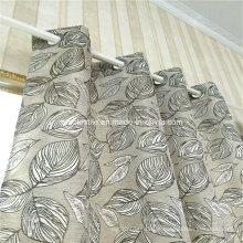 Typcial Circle Design Linen Similar 100% poliéster cortina