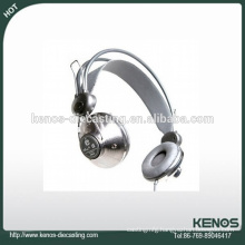 Top quality precision headphone cover zinc die casting factory