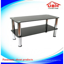 Simple 2 couches High Temepreture Ink Screen TV Stand