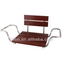 Assento de banho de assento de banho de madeira