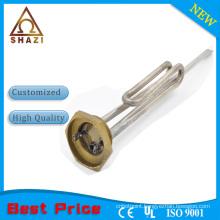 Sheath water tubular heating element