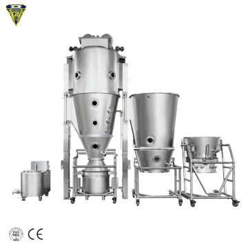 fluid bed dryer drier boiling drying machine for citric acid for instant milk powder