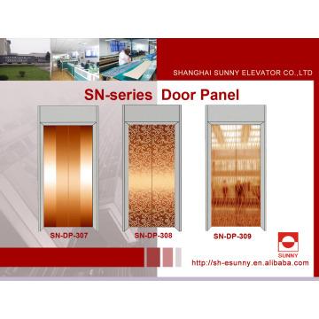 Aufzugs-Türverkleidung in der rosafarbenen goldenen Farbe (SN-DP-307)