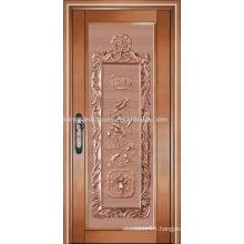 luxury copper door villa door exterior door single door KK-721