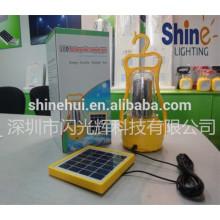 Llevó la linterna solar con el silicio del poly del cargador del teléfono celular con alta calidad