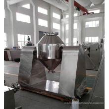 2017 misturador cônico dobro da série de W, misturador do recipiente dos SS, projeto horizontal do misturador da fita