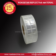 Waterproof reflective pvc tape for safety vests