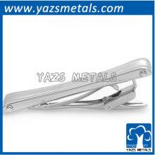 подгоняйте зажим для галстука, выполненный в классическом щедрый матовое серебро цвет галстук cilp