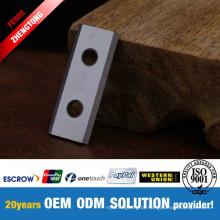 Faca reversível do Woodworking do CNC para aplainar