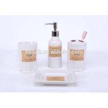 Горячий стиль 2015 Оптовая прочный фарфор ванной набор аксессуаров