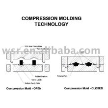 Compression rubber Mould, rubber mold