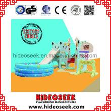 Umweltfreundliche Kunststoff-Folie und Schaukel mit Ball Pit