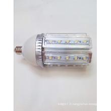 Chauffe-eau en aluminium ac100-240v haute puissance lampe à lumière de 360 ° Lumière 30w conduit lumière de maïs