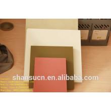 Tablero imprimible de la espuma del PVC blanco para la muestra, tablero de relleno del polietileno de 30m m / tablero de paleta del polietileno / tablero de la espuma del pvc