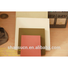 Placa imprimível da espuma do PVC branco para o sinal, placa de enchimento do polietileno de 30mm / placa de pá do polietileno / placa da espuma do pvc