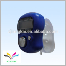 Hot Sale Promotional Gift Ring Digital Blue Muslin Finger cheap tally counter
