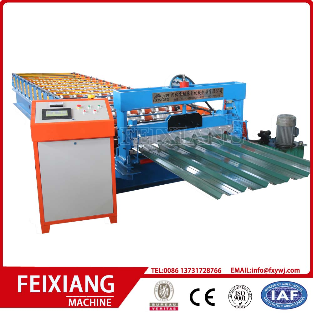 machine corrugated roofing sheet