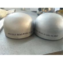 Dn 2605/2615/2616/2617 Tampa de extremidade de tubo de aço inoxidável 304