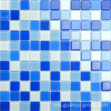 Blok Glass Mix Color Mosaic