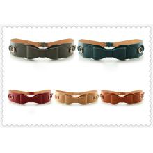 Fashion women pu leather belt