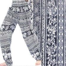 2016 Hot Sale Homem Pijama Impresso Tecido Rayon