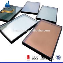 Preço unitário de vidro isolado para janela de vidro triplo IGCC