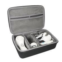 EVA Face Cleaning Brush Carrying Case, Hard EVA Travel Case Bag, Cleansing Kit EVA Case