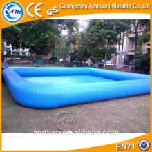 Funny gonflable piscine billard gonflable personnalisé flotteur piscine profonde